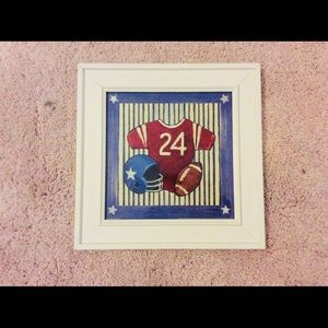 Other - Sports football collection art for kids  room